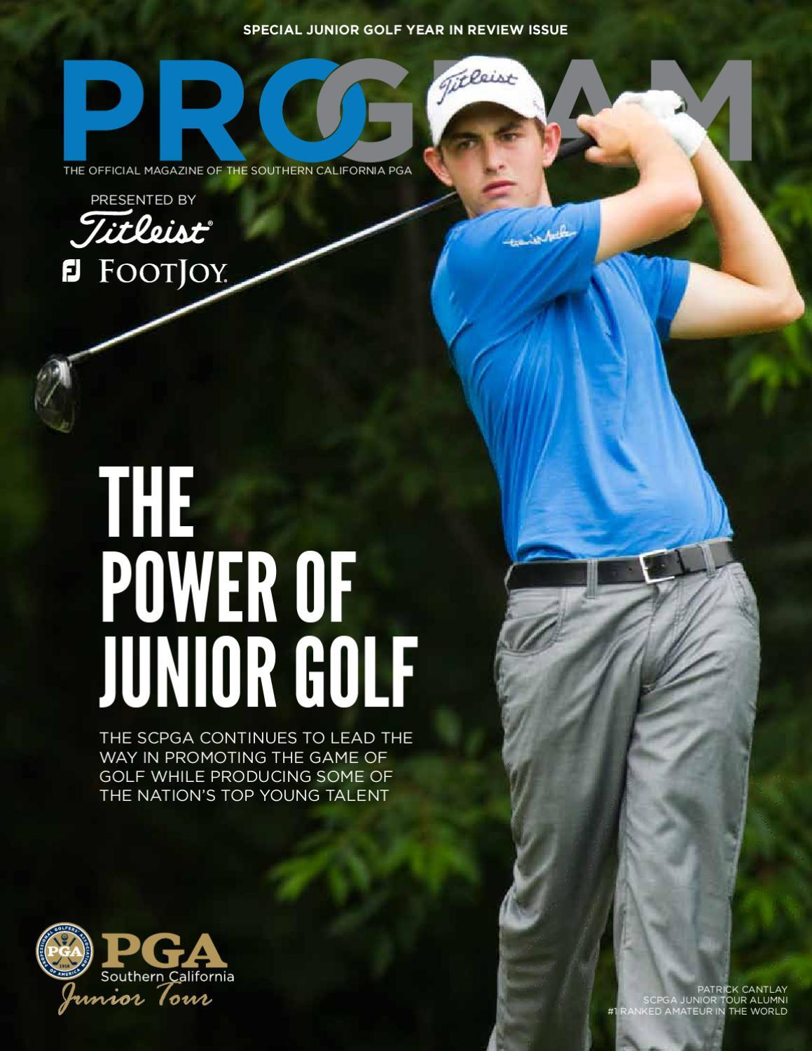 Patrick Cantlay Magazine Cover